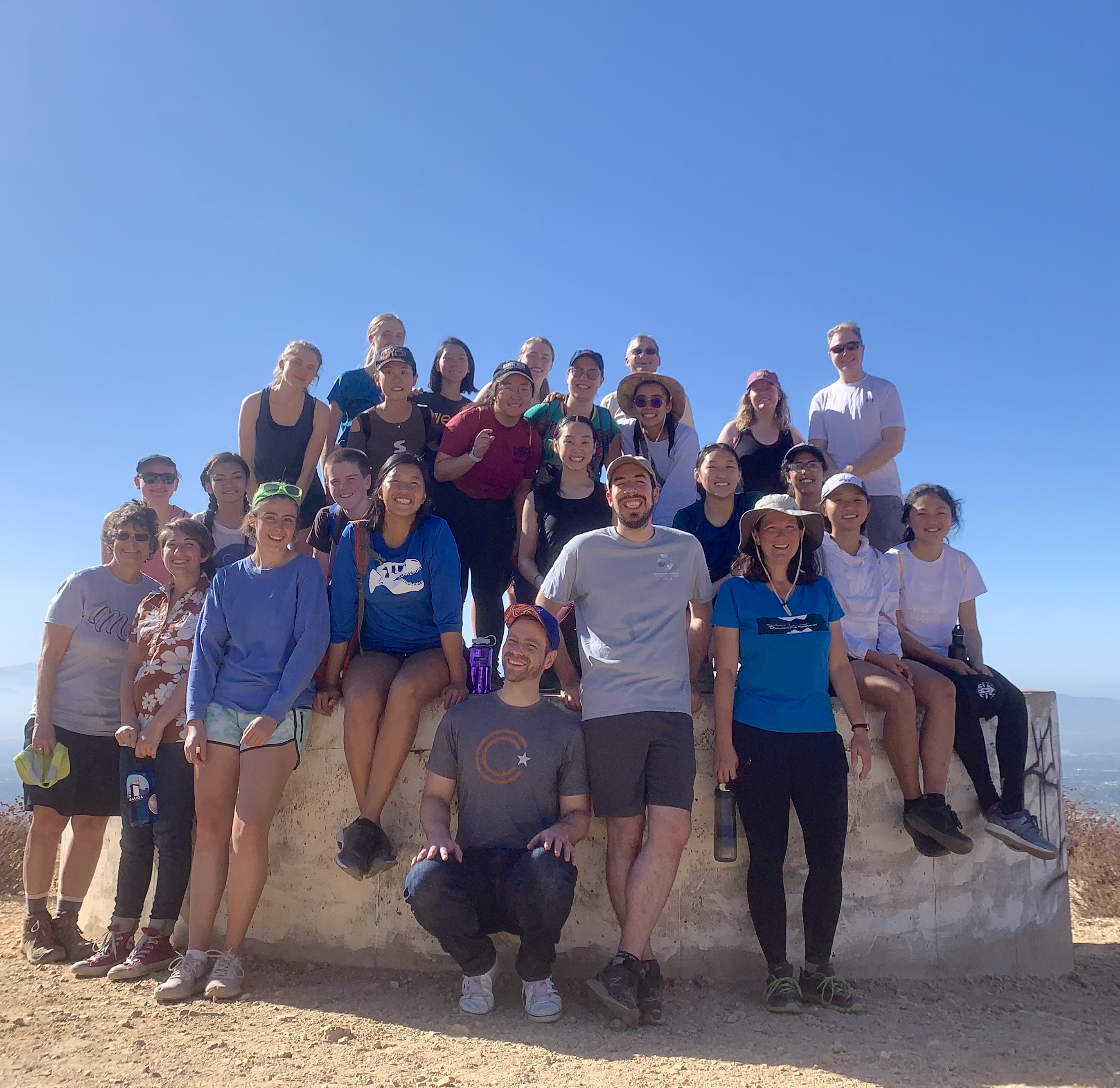 Women in Physics Hike Potato Mountain