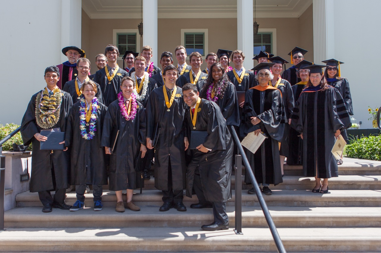 Class of 2014 on the Honnold Steps
